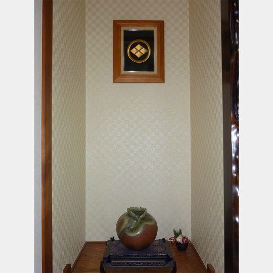 三重県 高砂額 家紋刺繍