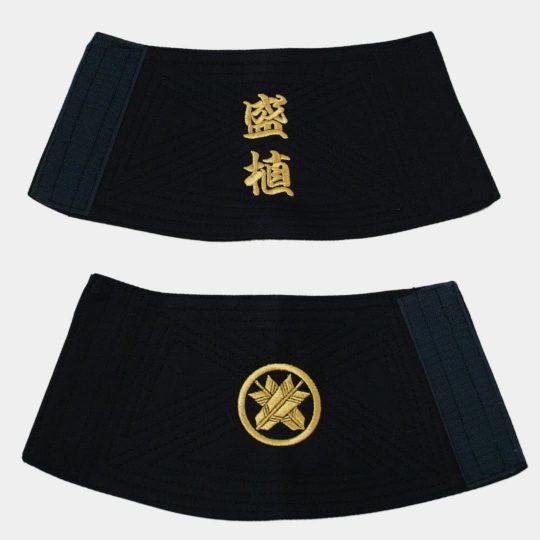 手甲-文字・家紋刺繍-