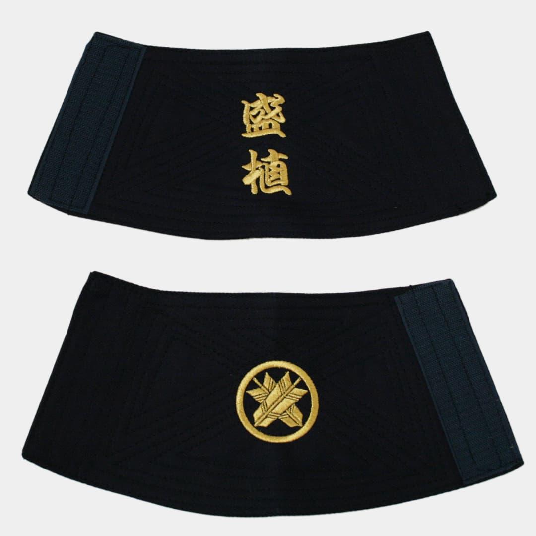文字×家紋刺繍