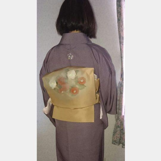 愛知県 お洒落紋 着物刺繍