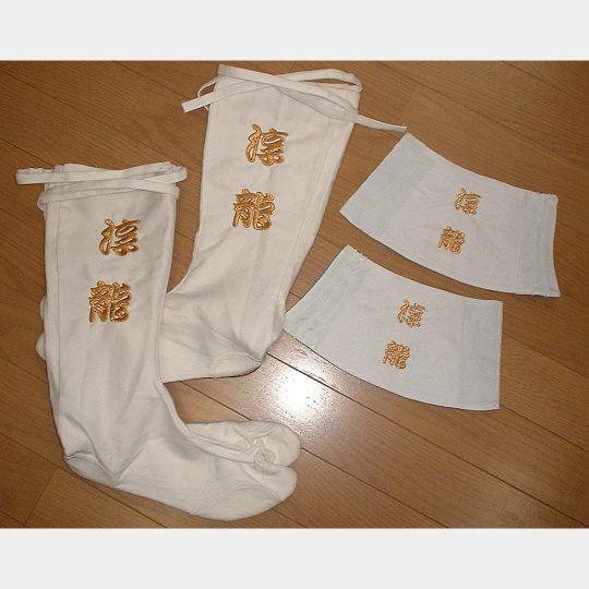 京都府 足袋・手甲 祭り刺繍