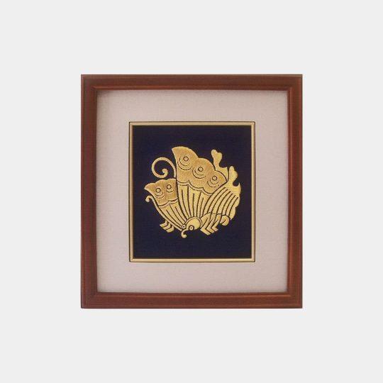 香川県 禄額 家紋刺繍