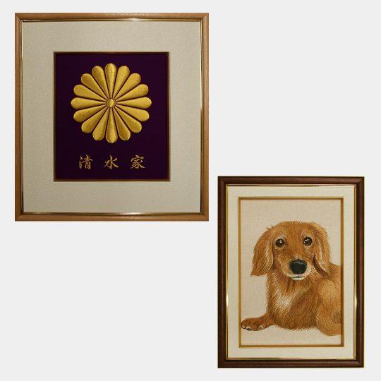 福岡県 福額・ペット刺繍 家紋刺繍
