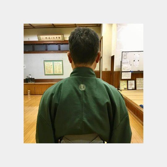 千葉県 男紋 着物刺繍